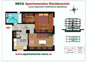 Schita Apartament NECA demisol